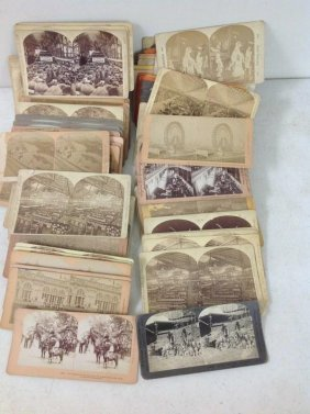 Lot Of 131 Stereoviews Of Exposition, All Real Photo,