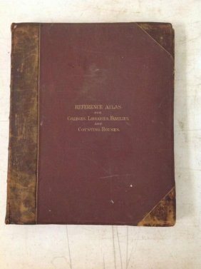 1865 Mitchells New Reference Atlas For The Use Of