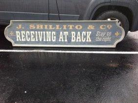 Movie Prop 19th C. Sign Copy- J. Shillito & Co