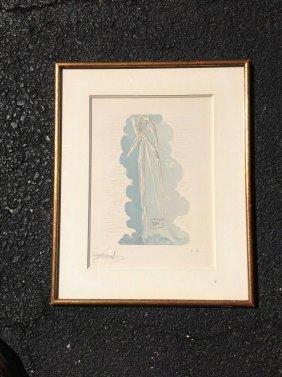 Salvador Dali Signed Paradiso Artist Proof Print, John