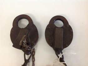 2 Ny Central Railroad Locks
