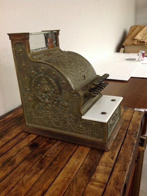 NATIONAL BRASS CASH REGISTER MODEL 313 BARBERSHOP OR - 3