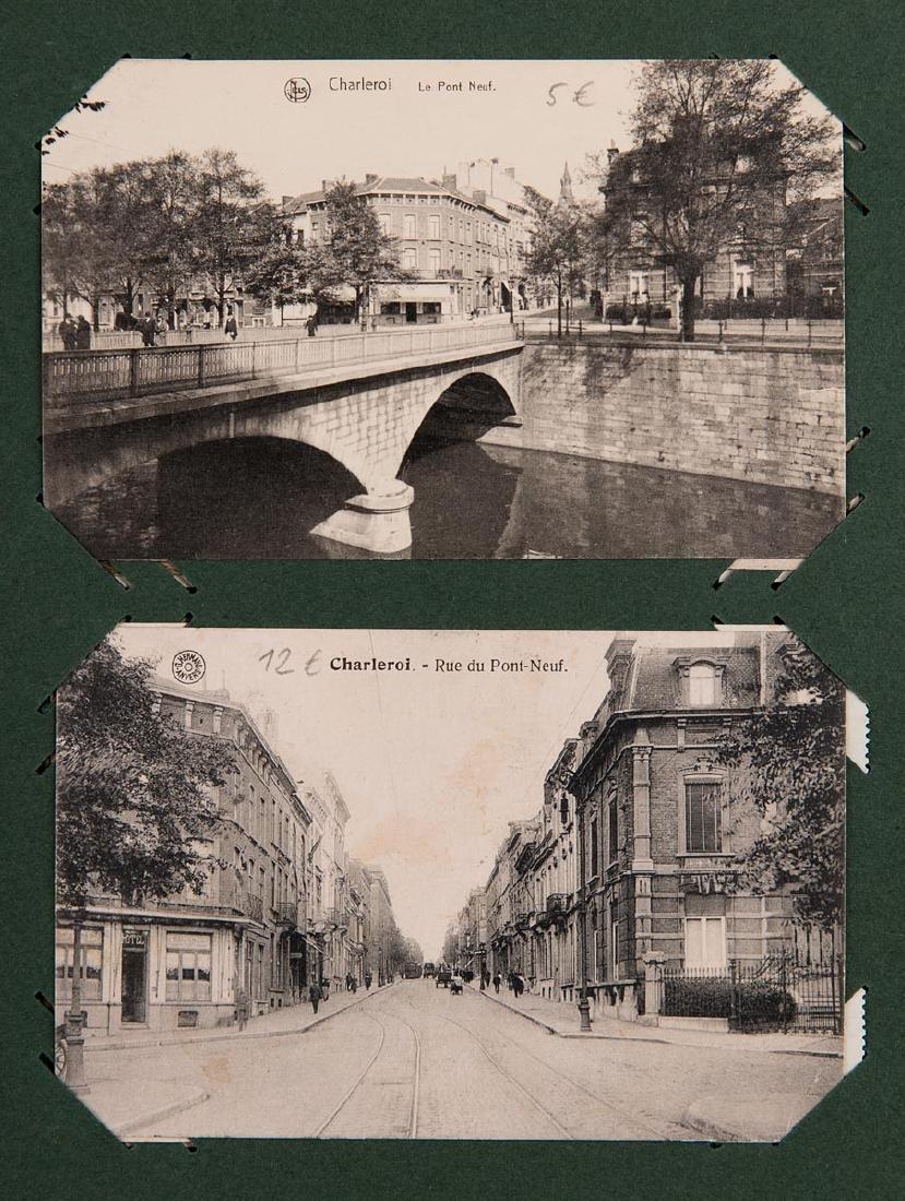 HAINAUT. Ensemble 200 cartes postales, époques diverses