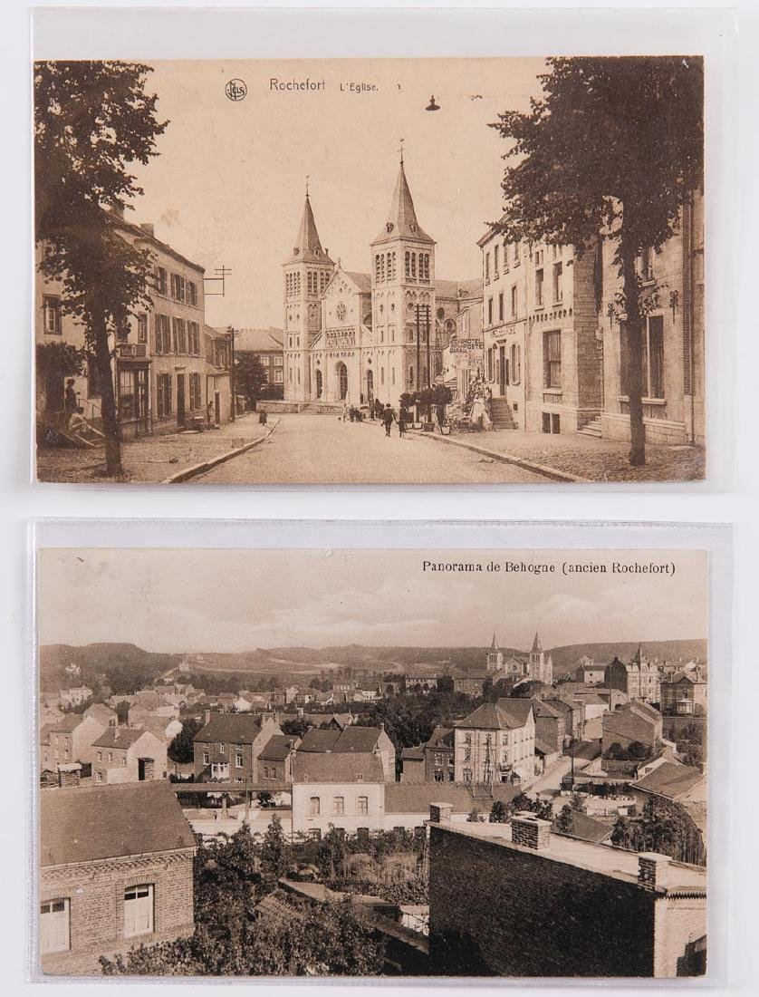 PROVINCE DE NAMUR. Environ 275 cartes postales, époques