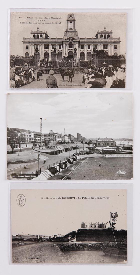 AFRIQUE OCCIDENTALE. Ensemble 100 cartes postales.