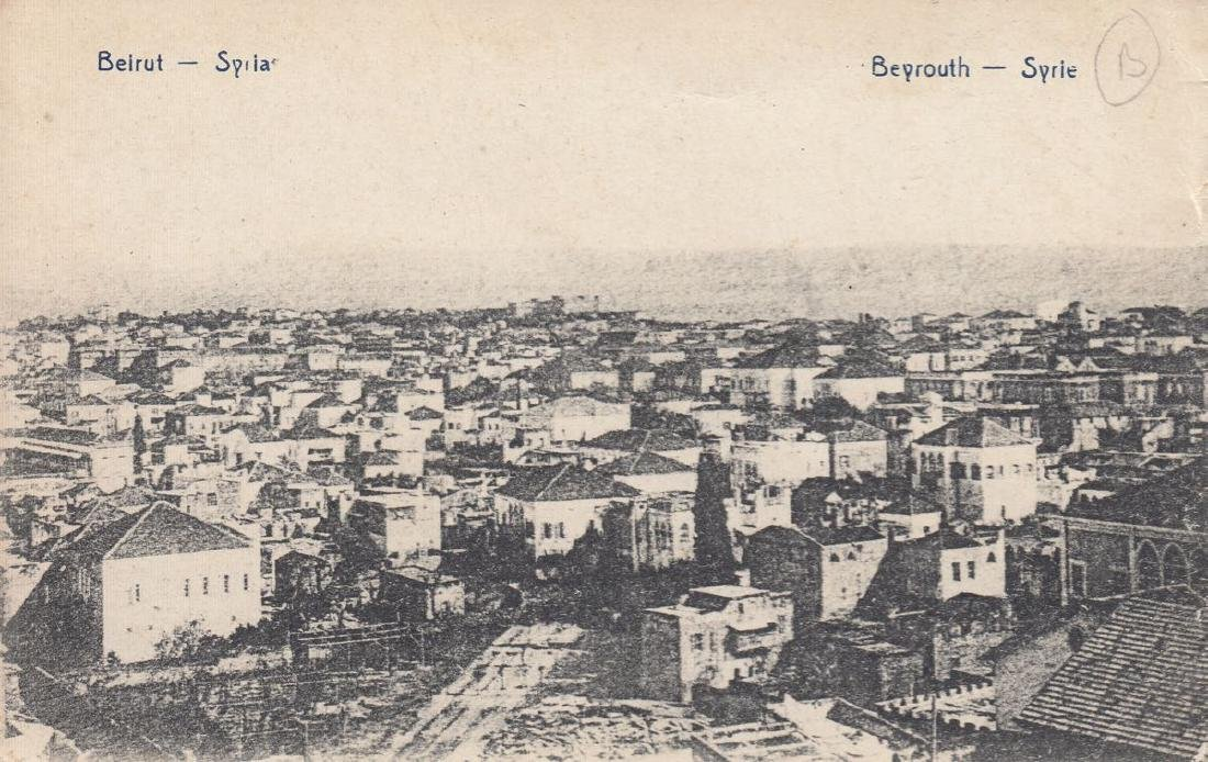 LIBAN & SYRIE: Beyrouth, Balbeek & Damas. Ensemble 78 c