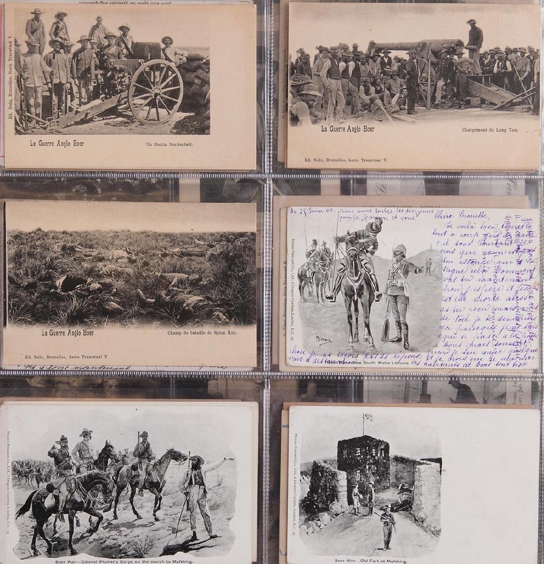 AFRIQUE DU SUD. Guerre des Boers. Ensemble de 58 cartes - 2