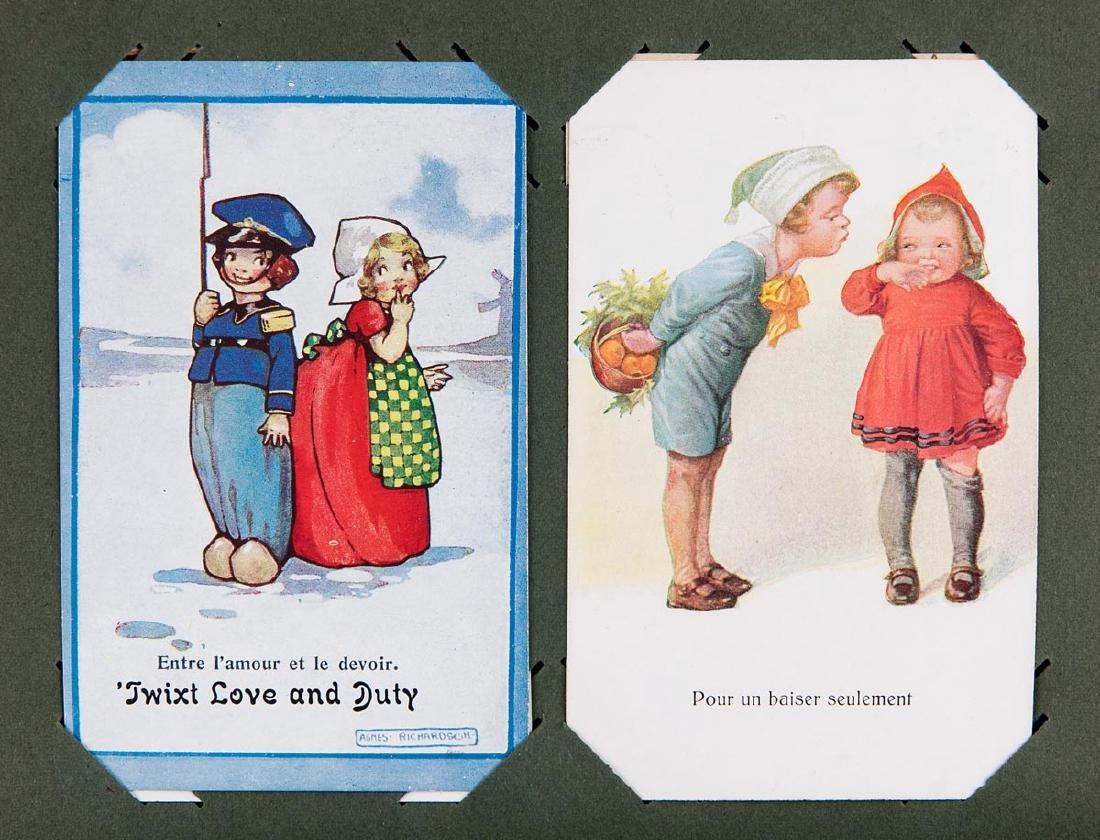 FANTAISIE. Lot de 195 cartes postales.