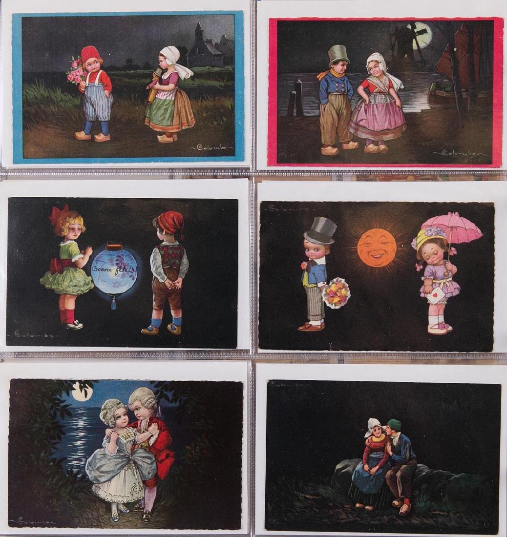 ILLUSTRATEURS. 459 cartes postales, thèmes divers.
