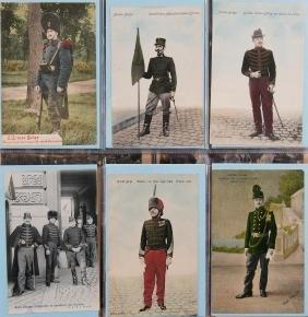 MILITARIA. Armée belge : uniformes, camps, portraits de