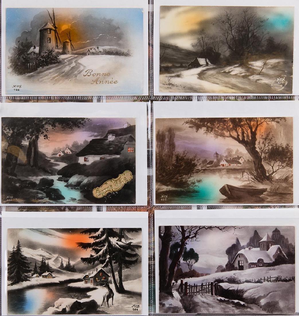 VARIA. Album composé d'environ 310 cartes postales, épo - 2