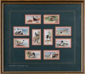 GAME Birds & Wild Fowl. Ensemble 30 images de la firme