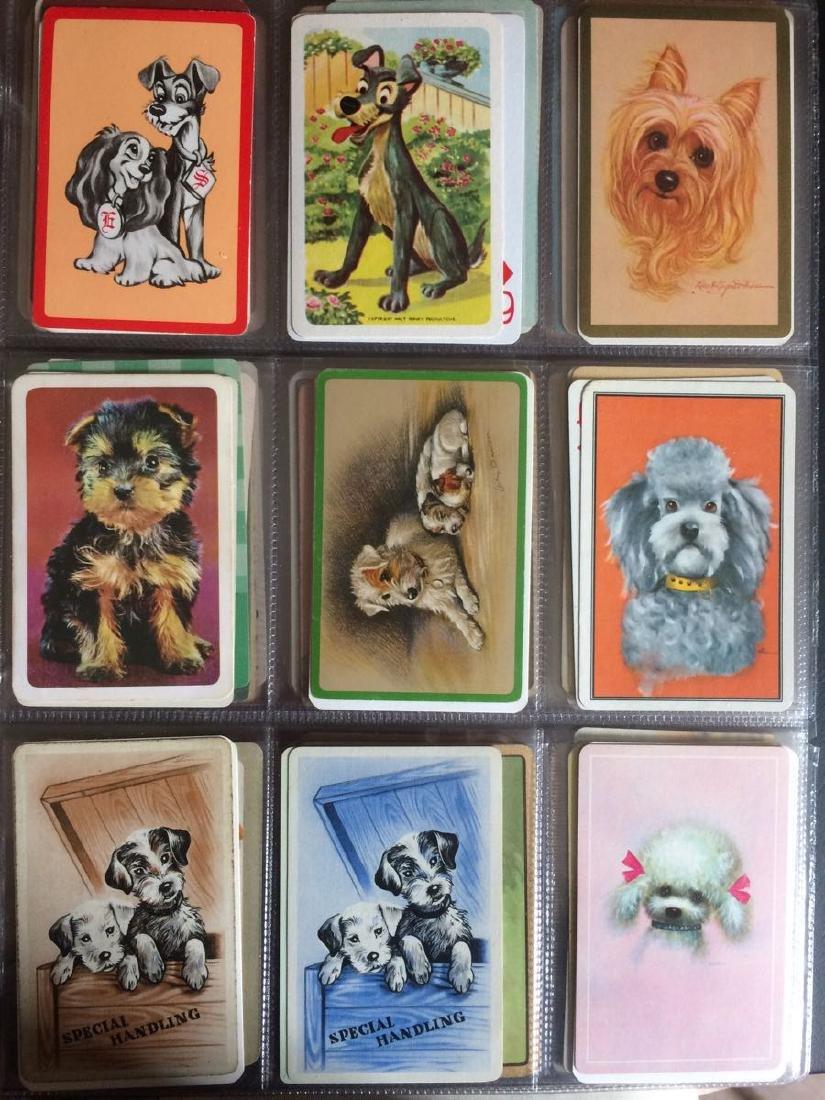 CARTES À JOUER. Lot d'environ 1500 cartes à jouer publi
