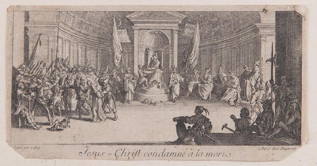 D'après Jacques CALLOT - Les Mendiants. - 2