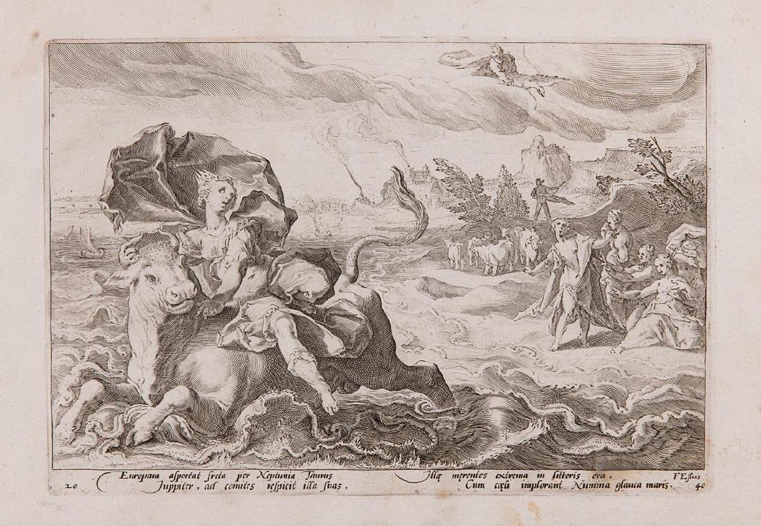 D'après Hendrik GOLTZIUS (Mühlbracht, 1558 - Haarlem, 1 - 2