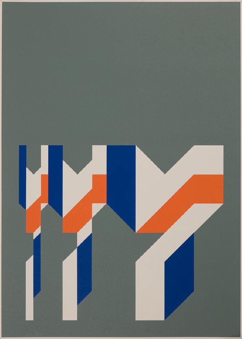 Pal HORVATH - [Composition géométrique].