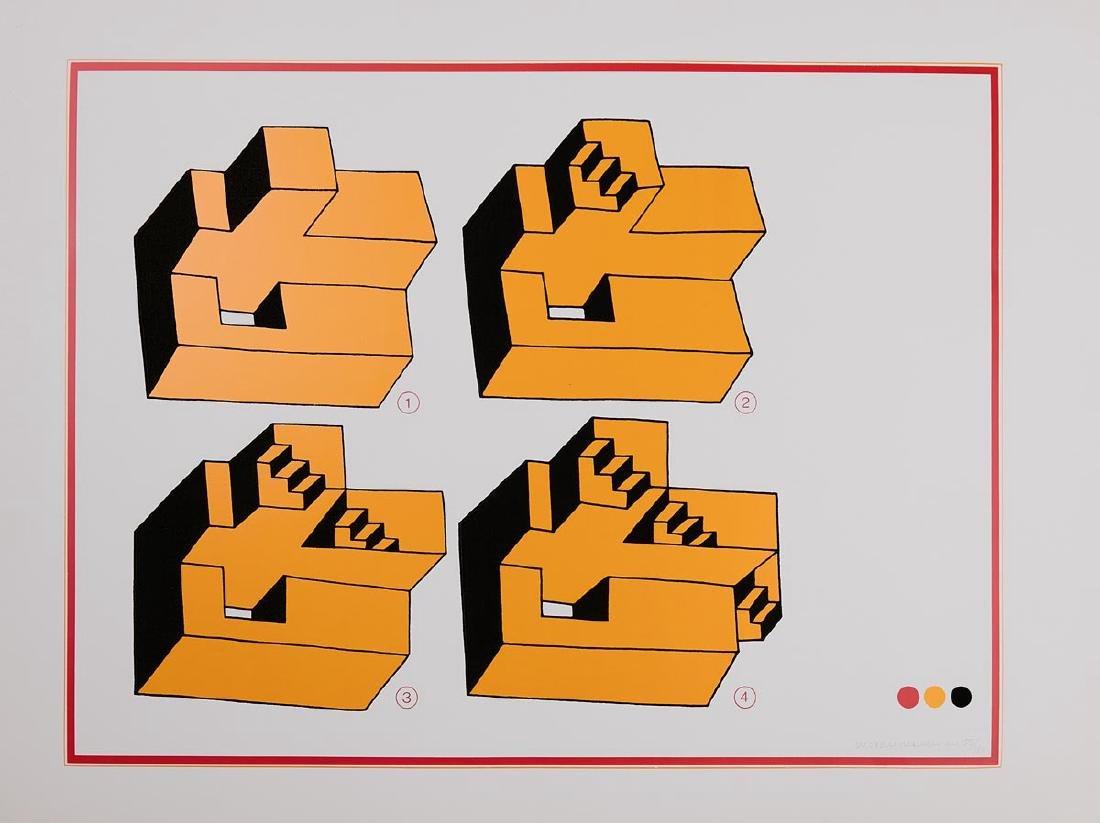 Pal HORVATH - [Composition géométrique]. - 9