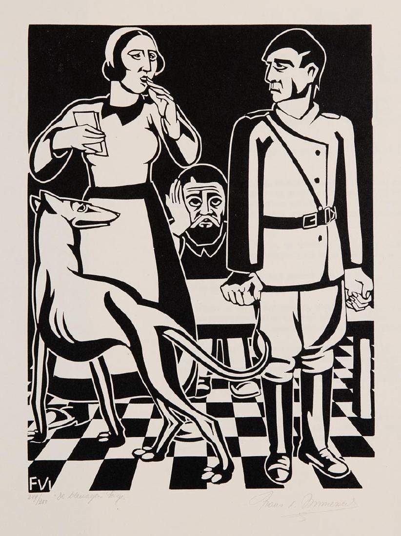 Frans VAN IMMERSEEL (Borsbeek, 1909 - Wilrijk, 1978) -