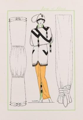MAISON DOUCET - Un siècle d'élégances masculines. [Text