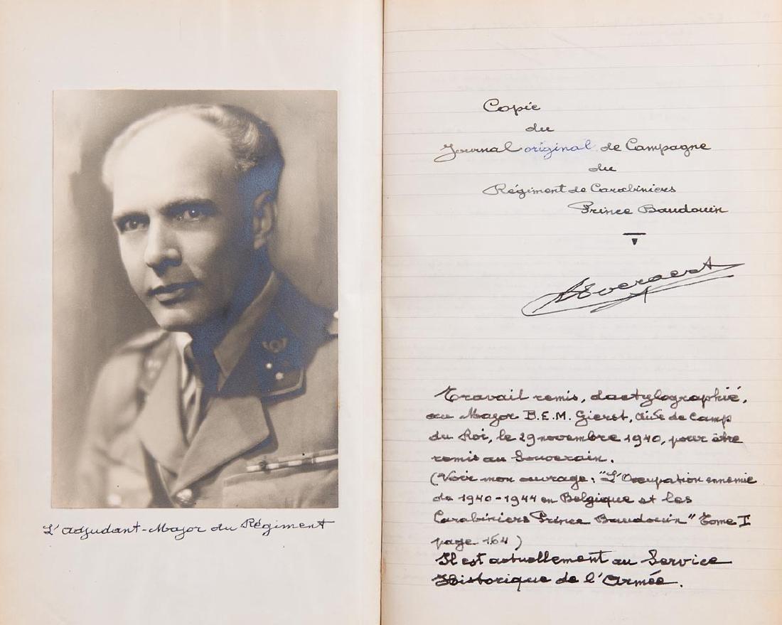 Lieutenant-Colonel René J. J. EVERAERT - Livre d'Or du