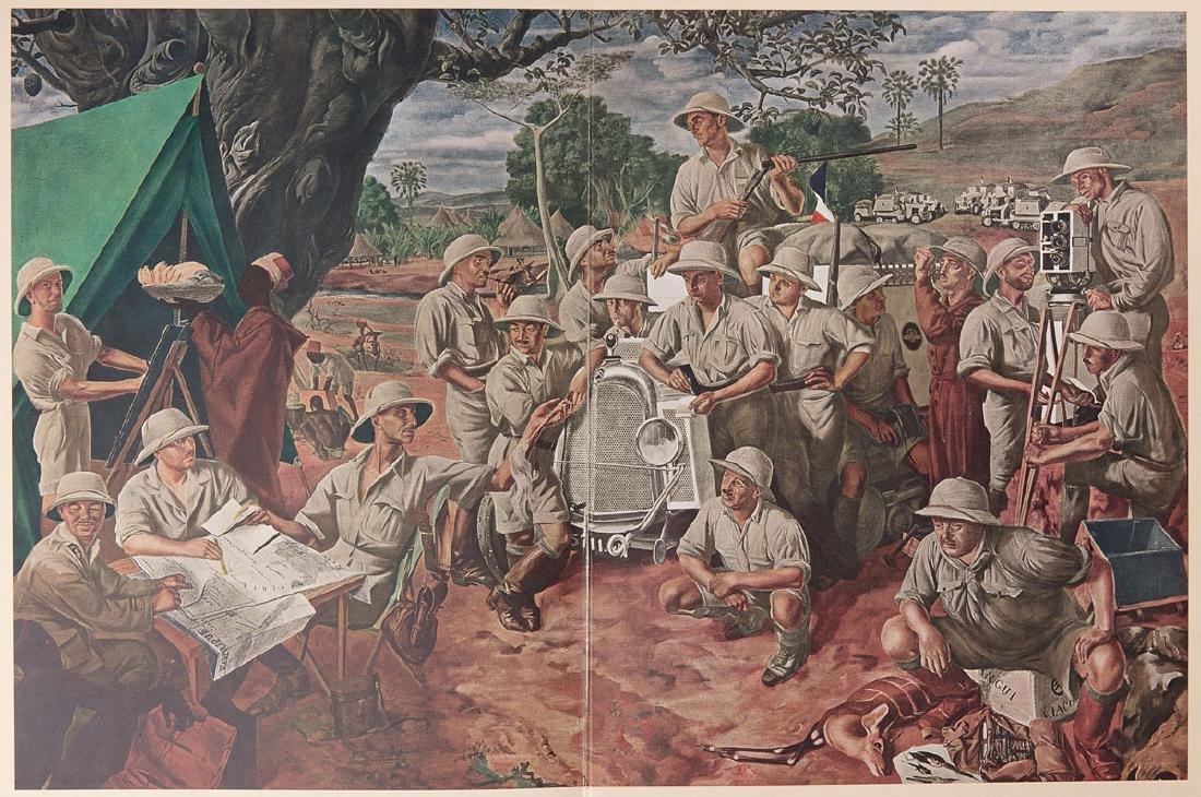Alexandre IACOVLEFF - Dessins et peintures d'Afrique. E