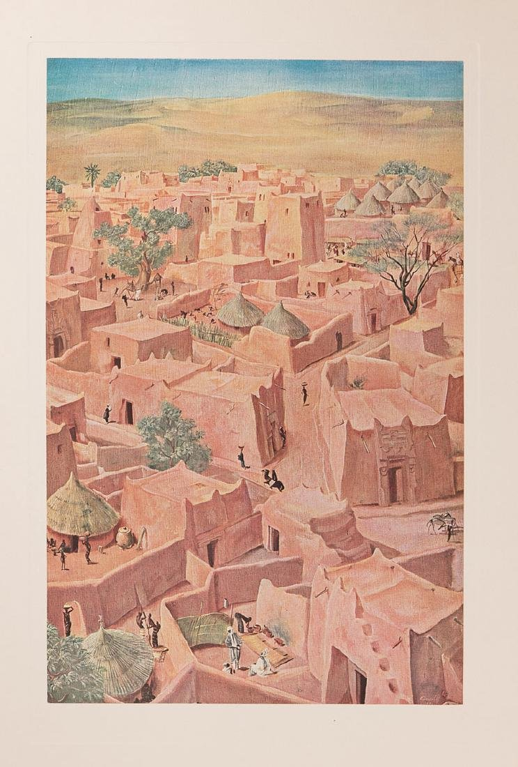Alexandre IACOVLEFF - Dessins et peintures d'Afrique. E - 2