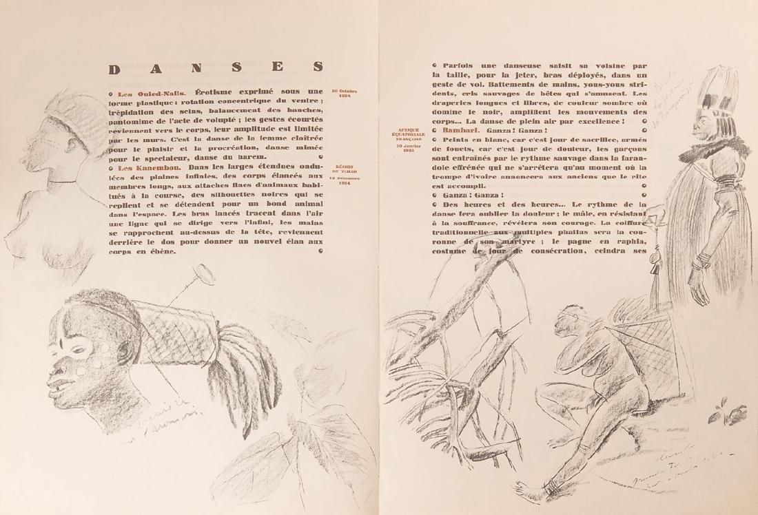 Alexandre IACOVLEFF - Dessins et peintures d'Afrique. E - 3
