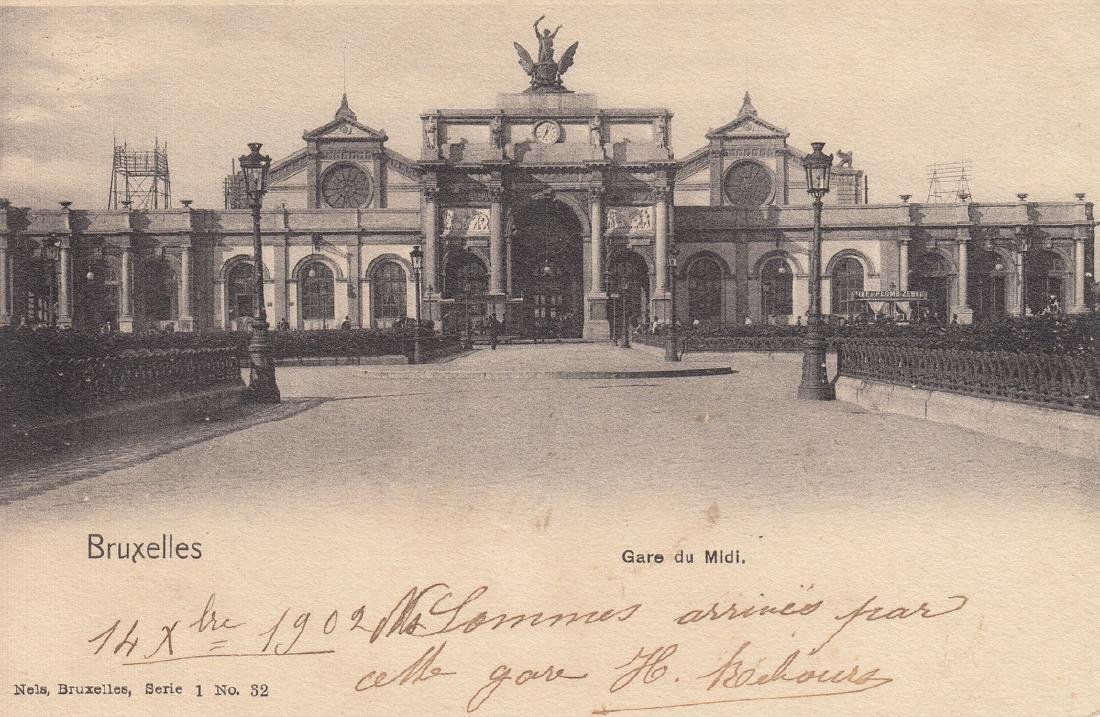 BRUXELLES. Environ 150 cartes postales NELS (avant 1914