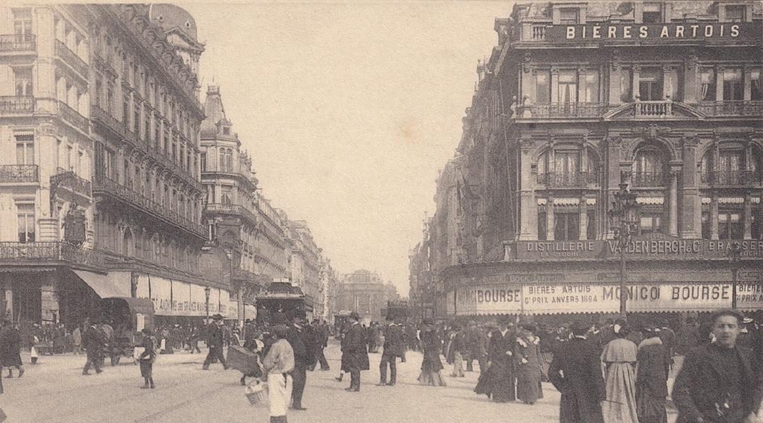 BRUXELLES. Environ 150 cartes postales NELS (avant 1914 - 2