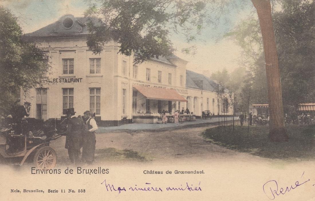 BRUXELLES & Brabant. Environ 100 cartes postales,