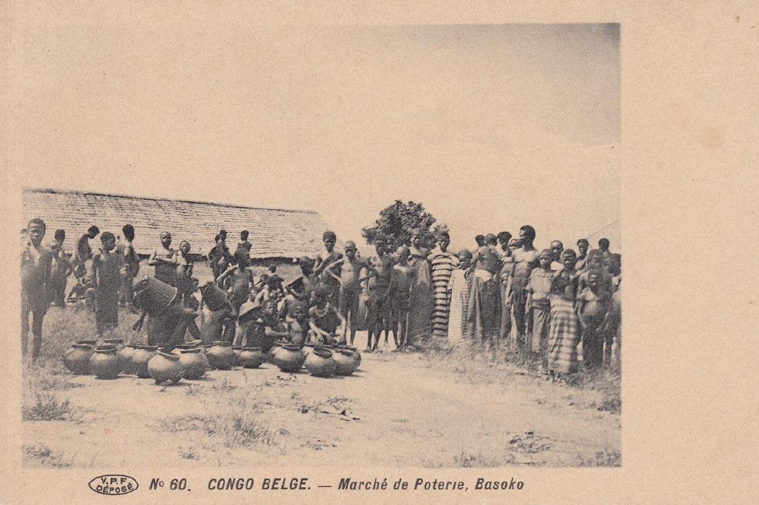 CONGO BELGE. Environ 180 cartes postales, époques