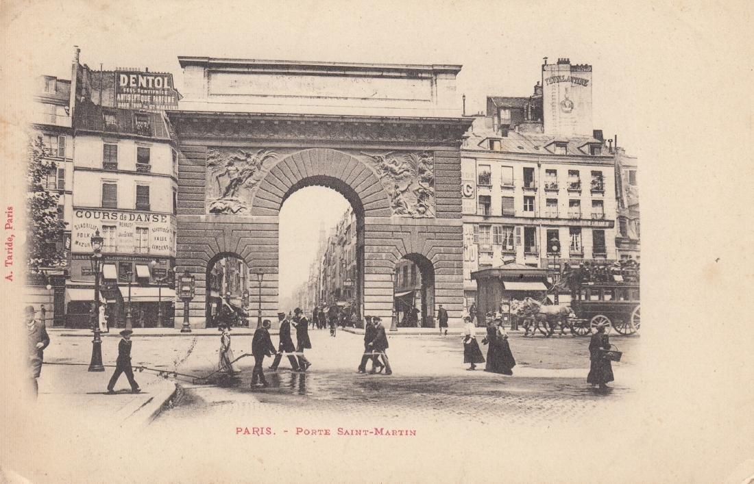 FRANCE : Paris et environs. Environ 110 cartes postales