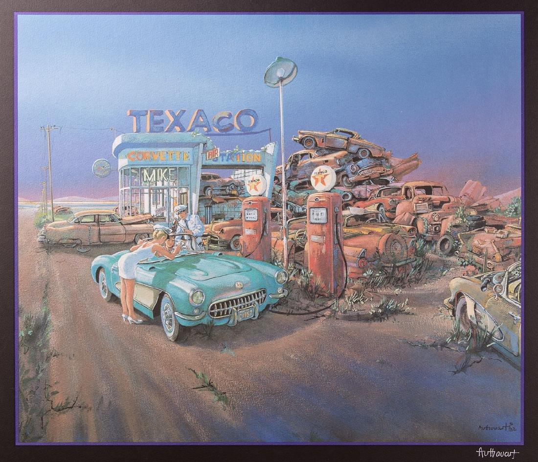 Daniel AUTHOUART (LILLEBONNE, 1943 -) - American Dream.