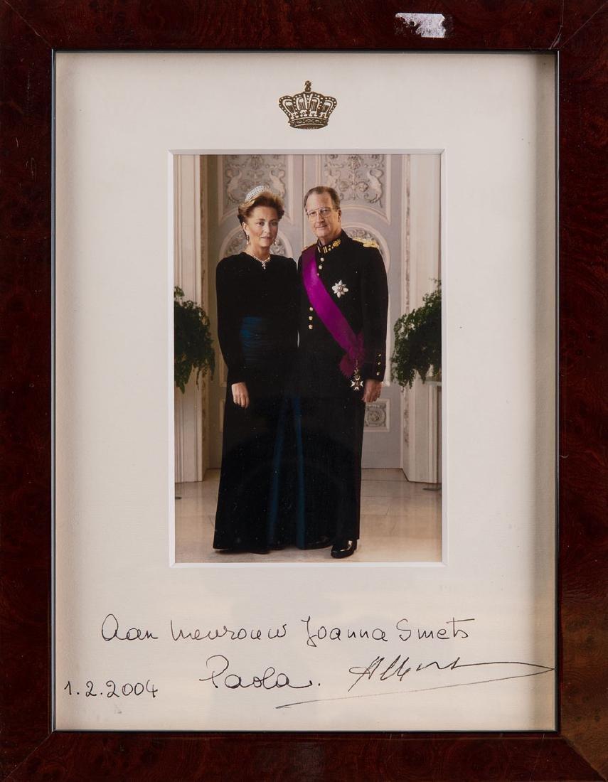 Le Roi ALBERT ET LA REINE PAOLA - Photogaphie en couleu