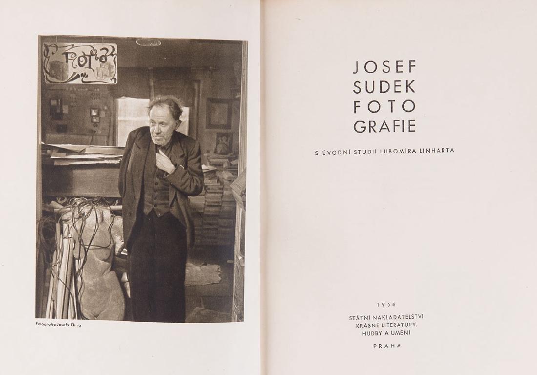 Josef SUDEK - Josef Sudek Fotografie. S uvodni studii L