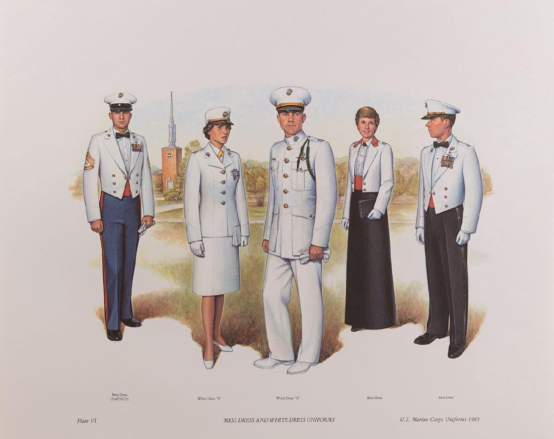 UNIFORMS OF THE UNITED STATES NAVY. 1776-1898 & 1900-19