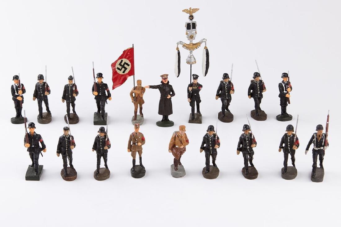 [ALLEMAGNE] ELASTOLIN - Armée allemande. 8 SS