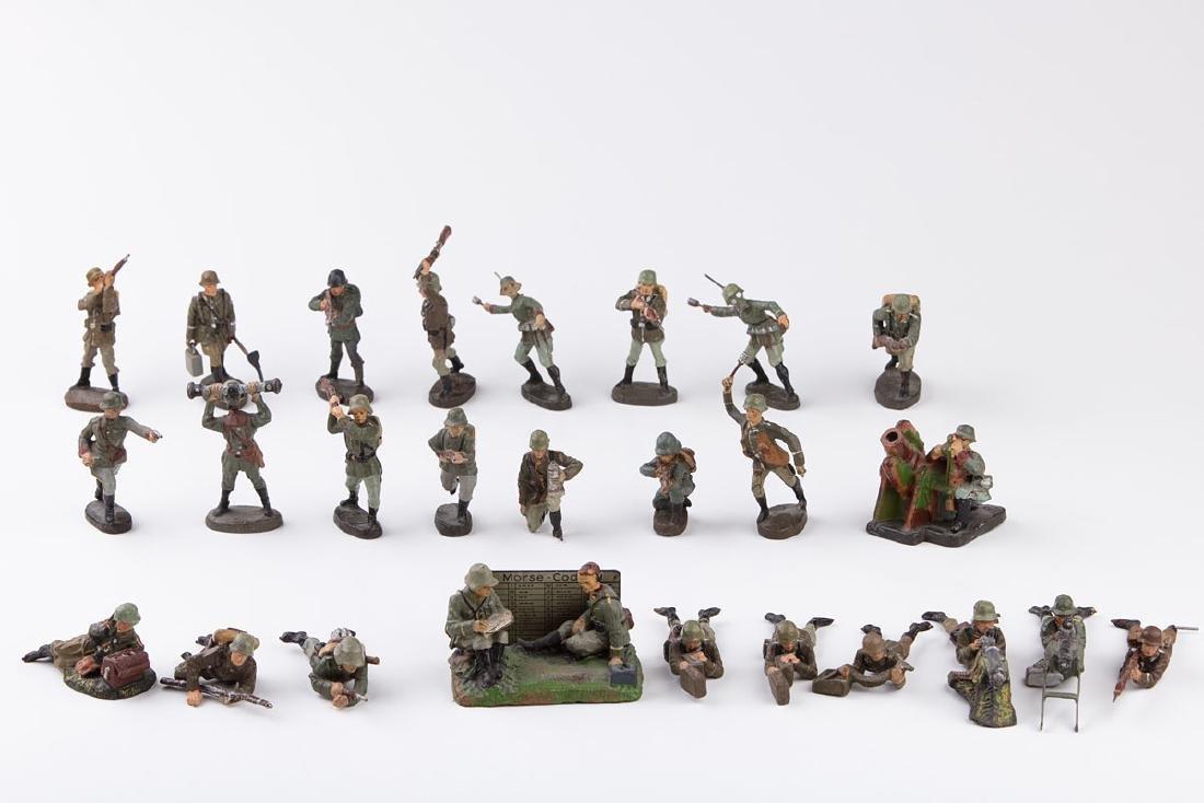 [ALLEMAGNE] ELASTOLIN - Armée allemande. 2