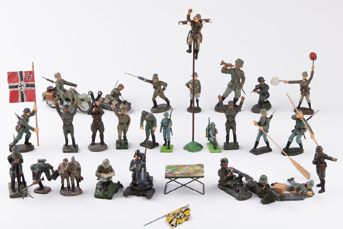 [ALLEMAGNE] ELASTOLIN - Armée allemande. 1 trompette