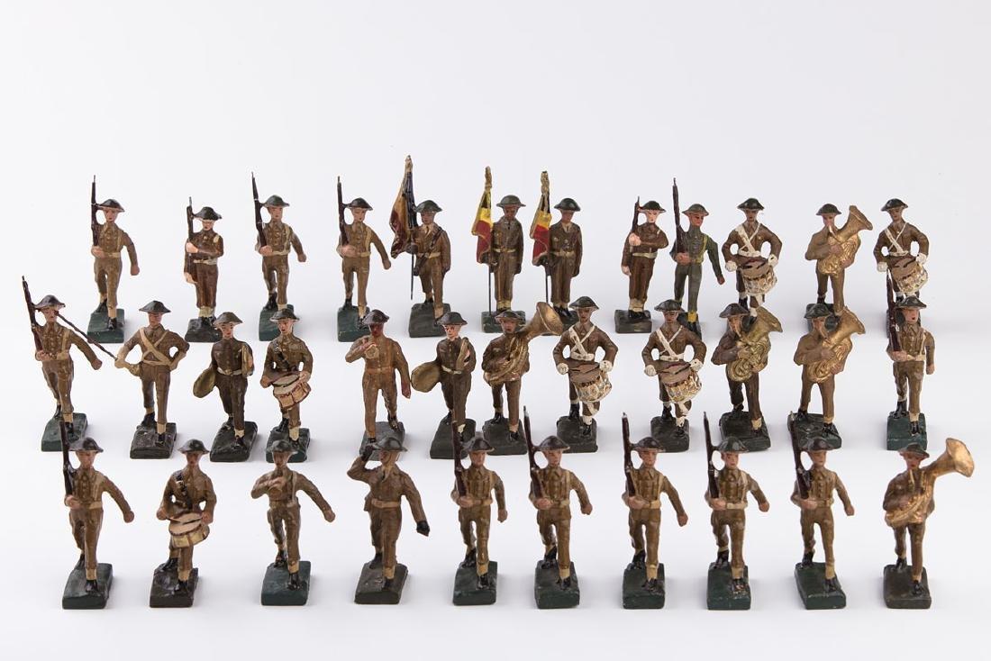 [BELGIQUE] DURSO - Armée belge casque anglais. Fanfare