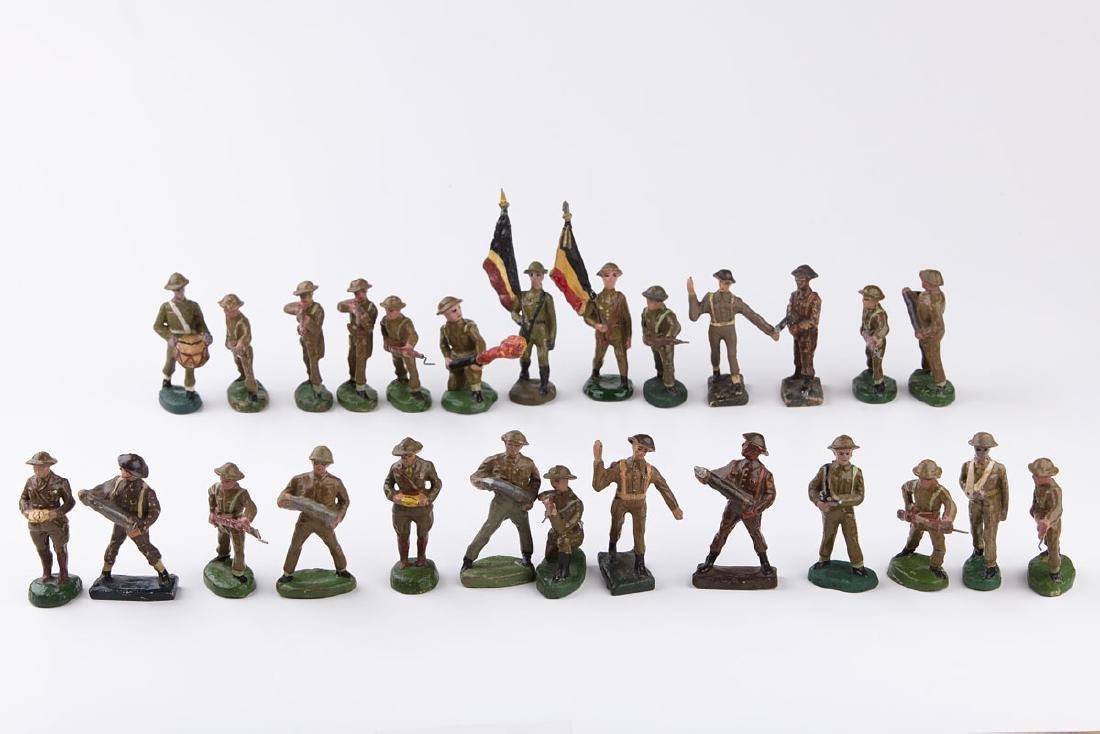[BELGIQUE] DURSO - Armée belge casque anglais. 1