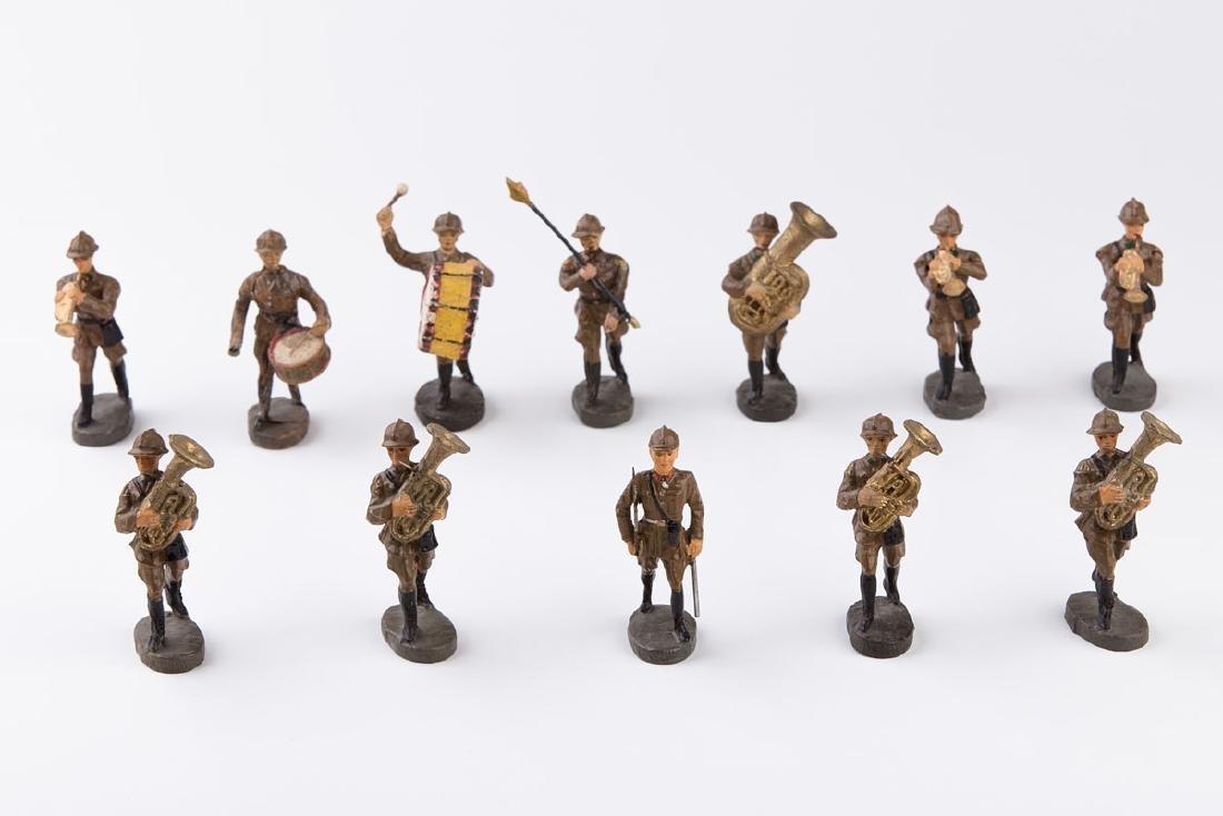 [BELGIQUE] ELASTOLIN - Armée belge. Fanfare. 5
