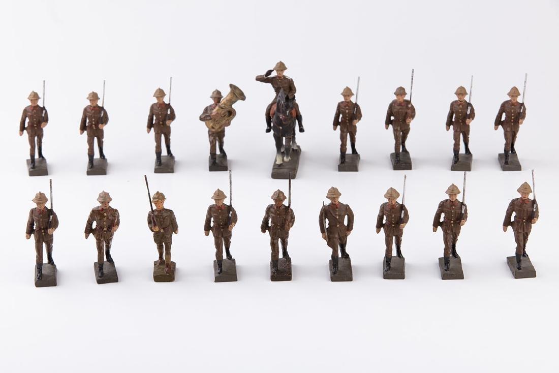 [BELGIQUE] LINEOL - Armée belge. 1 officier à cheval,