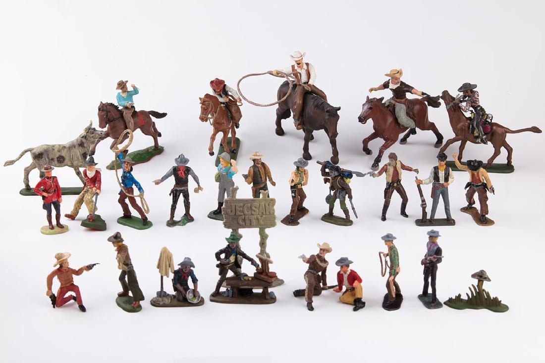 [FAR WEST] SANS MARQUE - 27 cowboys à pied, 5