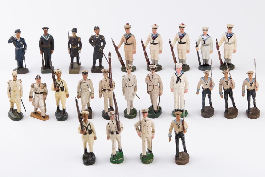 [MARINE] MB - Marine. 8 marins dont 1 officier, 1 porte