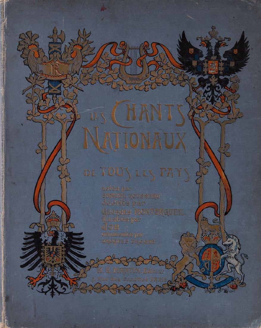 Georges MONTORGUEIL - Les Chants nationaux de tous les