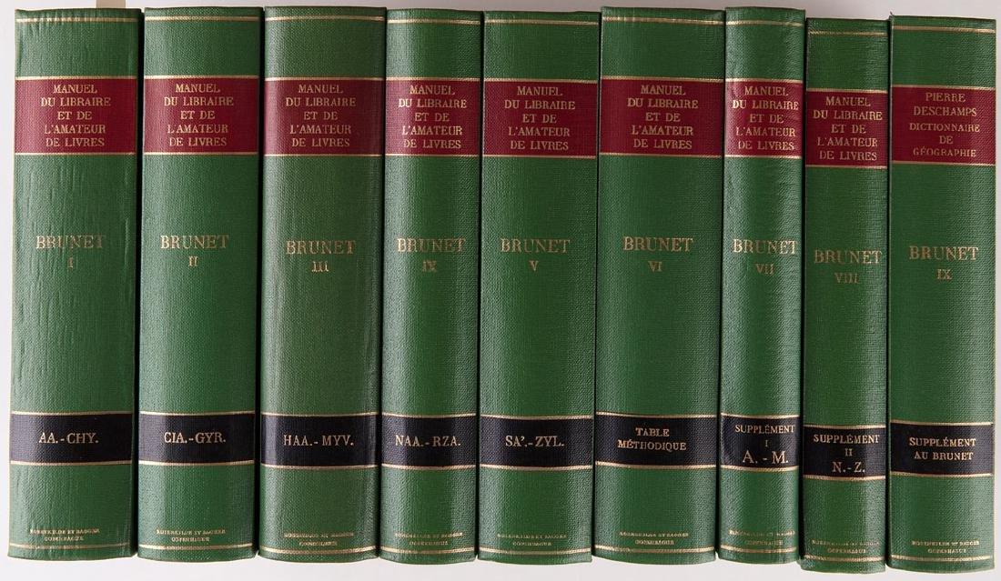 Jacques-Charles BRUNET - Manuel du libraire contenant 1