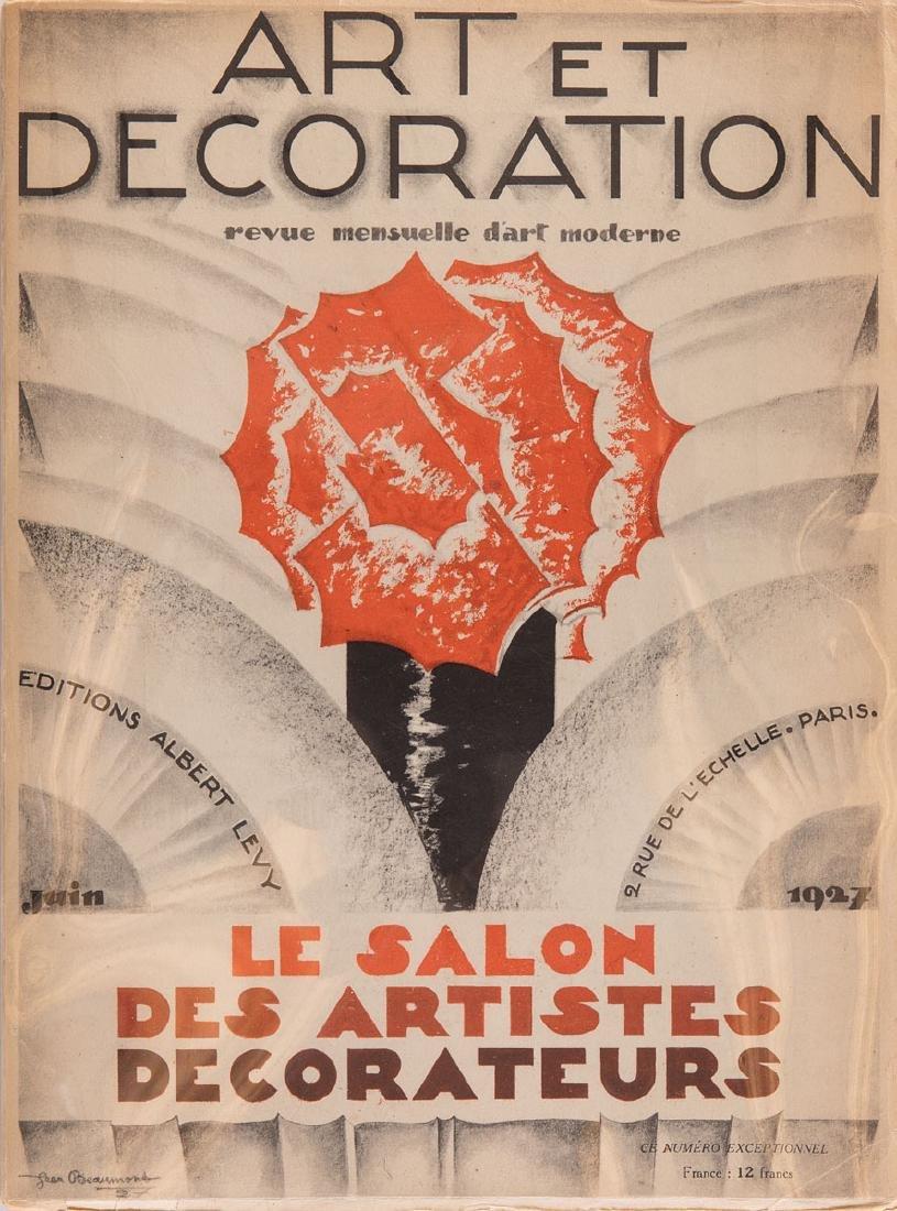 ART ET DÉCORATION. Revue mensuelle d'art moderne. Le