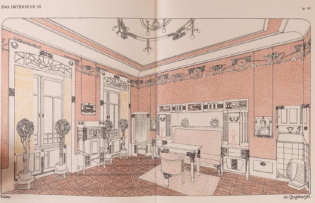 [ART NOUVEAU] Ludwig ABELS - Das Interieur. Wiener Mona