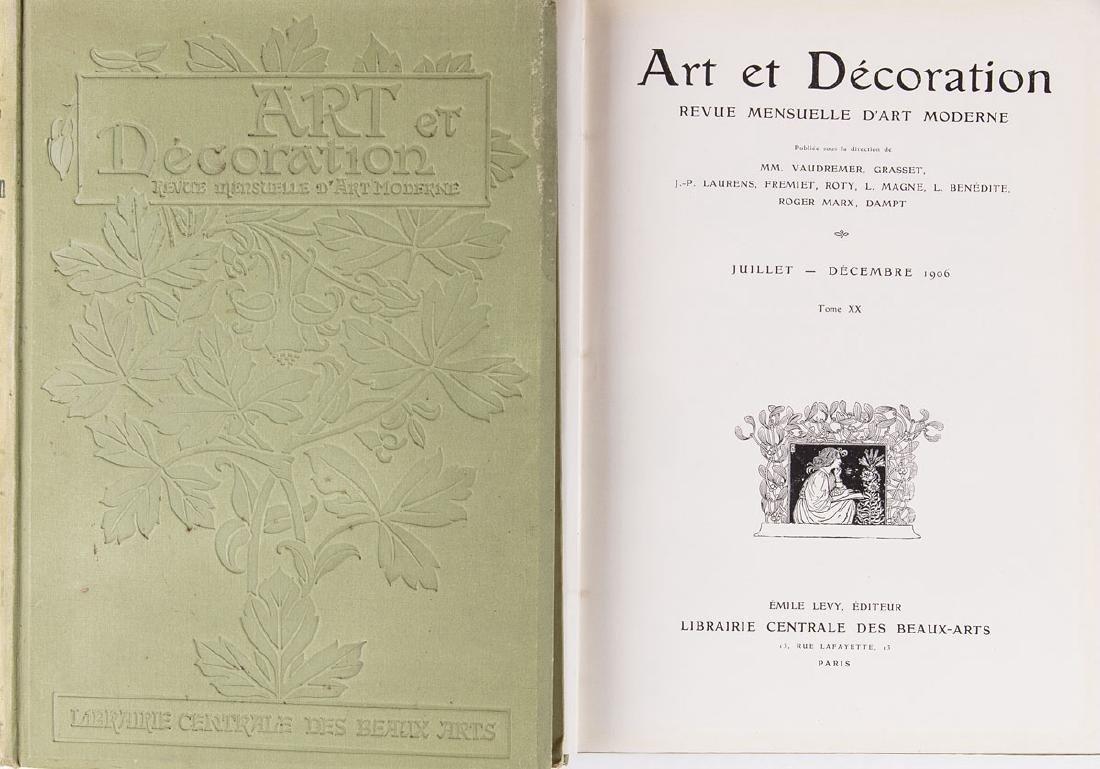 [ART NOUVEAU] ART ET DÉCORATION. Revue mensuelle d'art